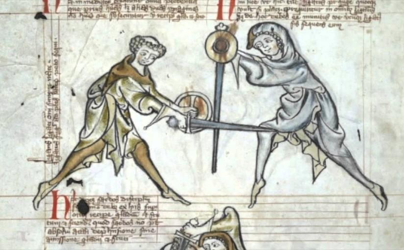 MS 1.33 Walpurgis fechtbuch seminaari
